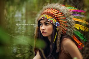 Karina Khay - Indian by arvinsp21