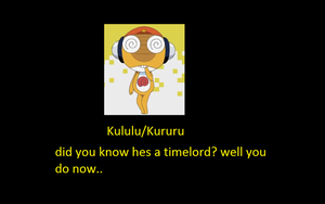 kululu the time lord ( sgt frog motivational ) by mjmpokemon1997
