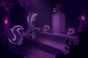 Exploration old ruins by FantDragon