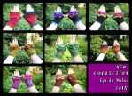New collection of fairy mittens available on Etsy by MademoiselleOrtie