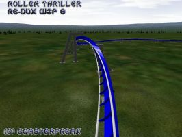 Roller Thriller Re-Dux WIP 8 by Coasterfreak