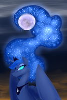 Luna Dos Night 8/9/14 update! by Dreatos
