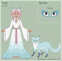 ToS - Yepa Reference Sheet by porcelian-doll