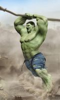 hulk closer look by damir-g-martin