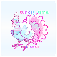 Tacky Turkey Time - Auction (CLOSED) by xAerisx