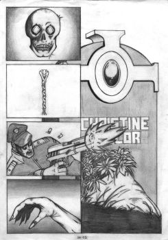 page 1 of 'Dagger of Isis' by soulsearxer