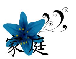 Blue Lily Tattoo by KelseySparrow67