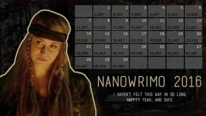NaNoWriMo 2016 Calendar - Harper McIntyre[The 100] by Margie22