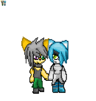 Couple pixel comm by charlie67894