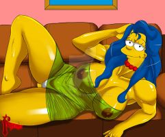 Sexy Marge Simpson pack by RHEMORA