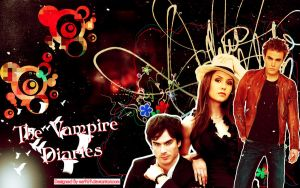 The Vampire Diaries Wallpaper by me969