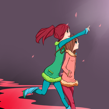 There it is by animeweirdoneedslove
