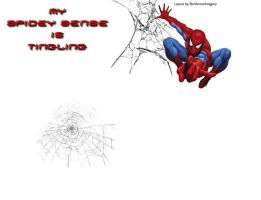 Spiderman Background by BioVenomImagery