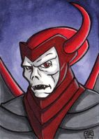 Venger Sketch Card by TheRigger