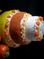 Candy Corn Cake by Shacchan