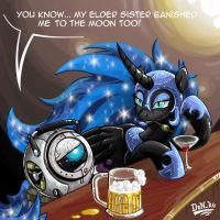 A talk in the pub by Don-ko