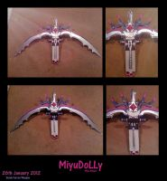 Serah Farron Weapon 95percent done by MiyuDoLLy