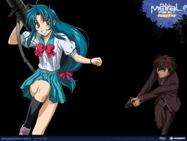 Full Metal Panic Wallpaper by night-wolf23
