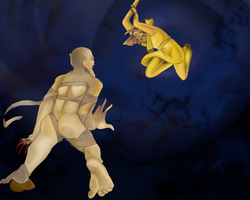 Stephano vs. The Bro by Smokeybred