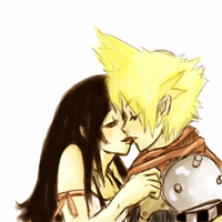 Cloud and Tifa by Isuk