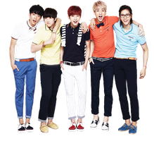 B1A4 png [render] by Sellscarol