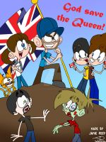 God save the Queen! by Peskyplumber64