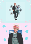 +chanyeol [pastel edit] by BohemianStorm