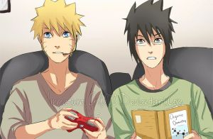 Naruto- Why We Can't Study Together by Immature-Child02