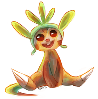 chespin by blubified