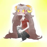 aradia with jeans by Maddog55567