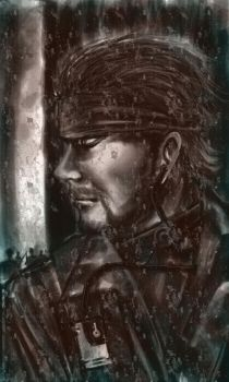 Metal Gear's Snake by Gold-copper