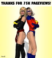 Ms. Marvel 10:  75K by hotrod5