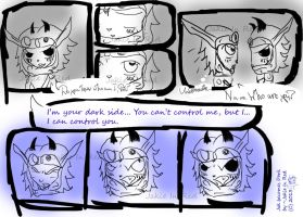 Jak becomes Dark for the first time by JakieInRed