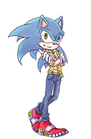 sonic_03 by AliotRiver