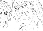 Character faces 3 by panzermarduk