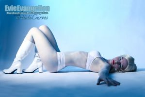 Emma Frost Cosplay With Evie by oldmacman