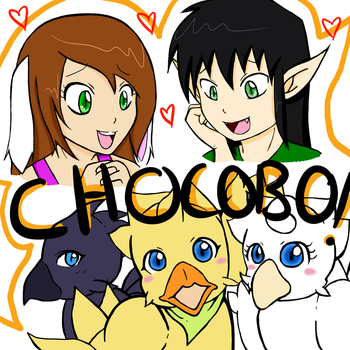 CHOCOBO by bunny-chan92