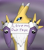 Leave Renamon alone by Fangy-From-Shadow