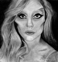 Lady Gaga Born This Way by LoveGagaRedAndBlue