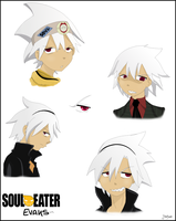 Soul 'Eater' Evans - First try xD by Martyna-Chan