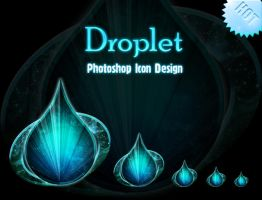 Photoshop Droplet Icon Design by 878952