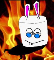 MARMAR The marshmallow bunny by VideoGames4Life
