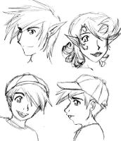 FOP: Faerie and Timmy sketches by pedal