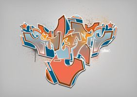 Graffiti Lover Wallpaper by EkaOne1