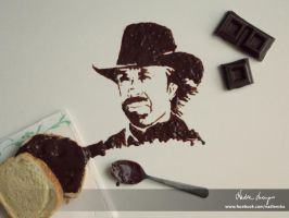 Choc Norris by NadienSka