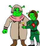 Shrek Russia And Fionna China by FallOutWoman