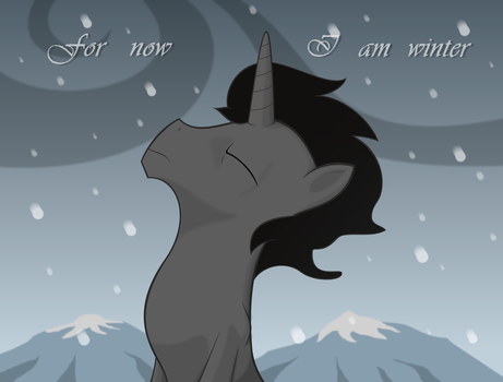 For Now I Am Winter by Rebron-y