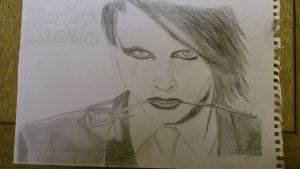 Marilyn Manson by BlackCarona
