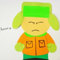 SP: Angry Kyle paper animation by Antych