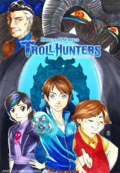 What if TrollHunter was a manga? by KaFdA